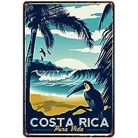 LAUGH WELL Costa Rica Cartel de Chapa metálica
