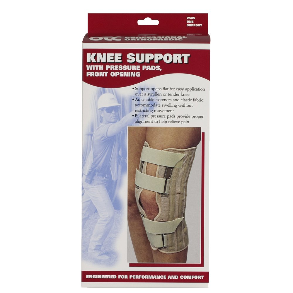 Amazon.com: OTC Knee Support, Front Opening, Pressure Pads, Knit Elastic, X-Large: Health & Personal Care