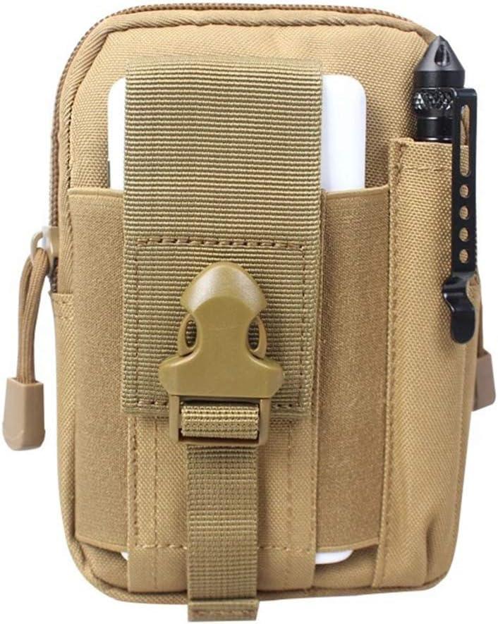 shengyuze Men Vintage Faux Leather Fanny Rucksack Pack Zipper Waist Bag for Men Belt Clip Pouch