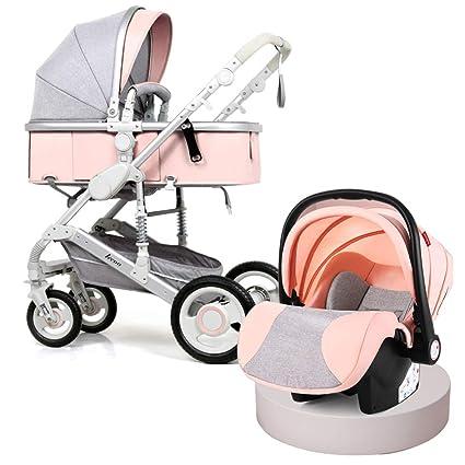 c9828a5c9 YINGH - Cochecito de bebé para recién nacidos y niños pequeños - Cochecito  de cuna convertible