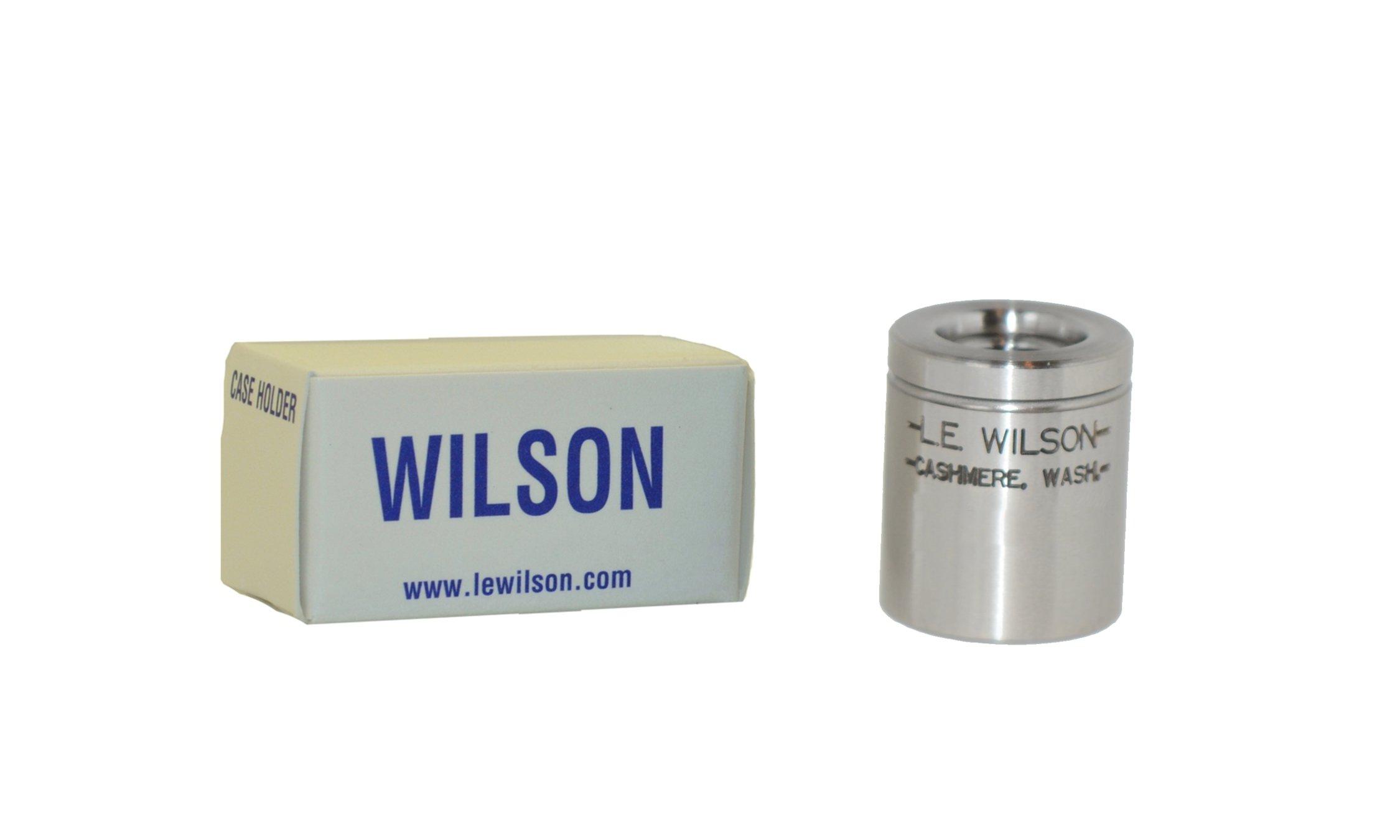L.E. Wilson PH-9MM Pistol Holder for 9 mm Trimmer, Hardened Steel