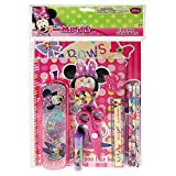 minnie mouse school supplies - Minnie Mouse 11 Piece Stationary Value Pack