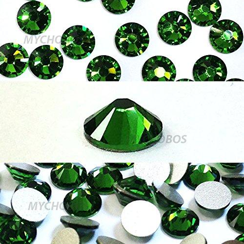 20ss Flat Back Crystals - 144 pcs Fern Green (291) Swarovski NEW 2088 Xirius 20ss Flat backs Rhinestones 5mm ss20
