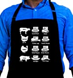 Grilling Times Large Funny BBQ Apron