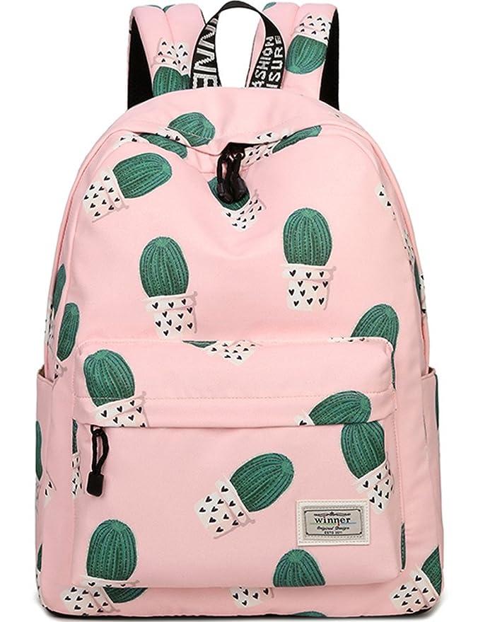 Amazon.com: Mochila escolar para niñas. Hermoso bolso ...