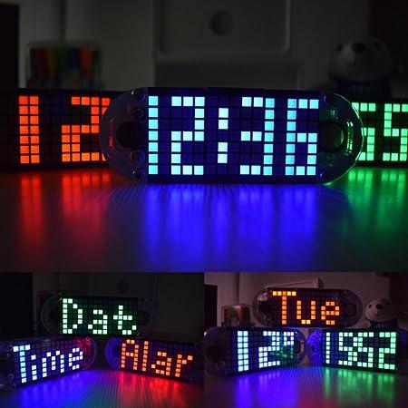 DIY DS3231 4 Digit LED Electronic Clock Kit Touch Key
