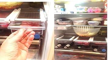 Kühlschrank Klemmschublade : Klemm schublade für kühlschrank er set transparent schublade