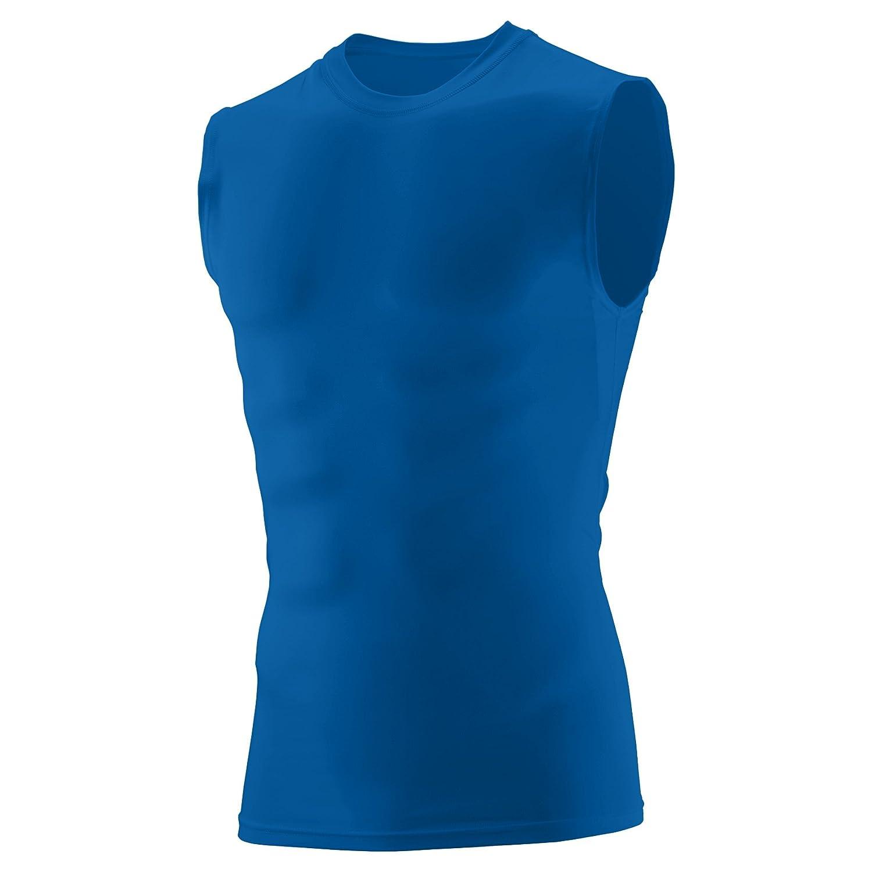 c82a34ac Amazon.com: Augusta Sportswear Boys' Sleeveless Compression Shirt: Sports &  Outdoors