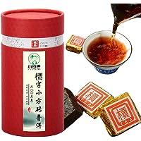 普洱小方砖沱茶 03年槚字普洱茶 熟茶 迷你小方砖茶叶 (500克*2罐)
