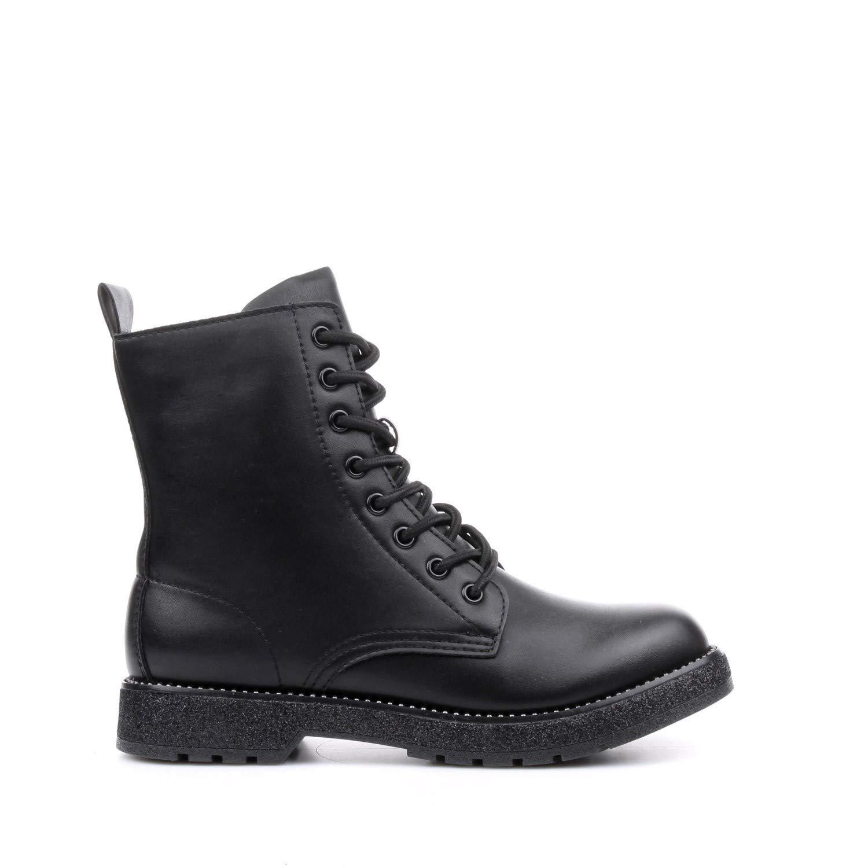 CAF schwarz FA930 Schwarze Schuhe amphibische Frau Schnürsenkel