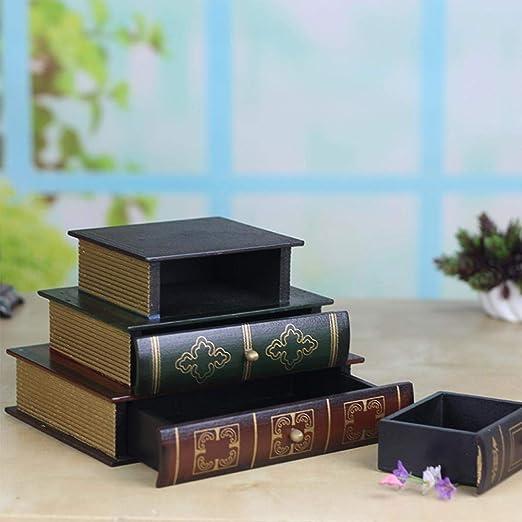 Sue Supply - Caja de joyería con Forma de Libro, Caja de ...