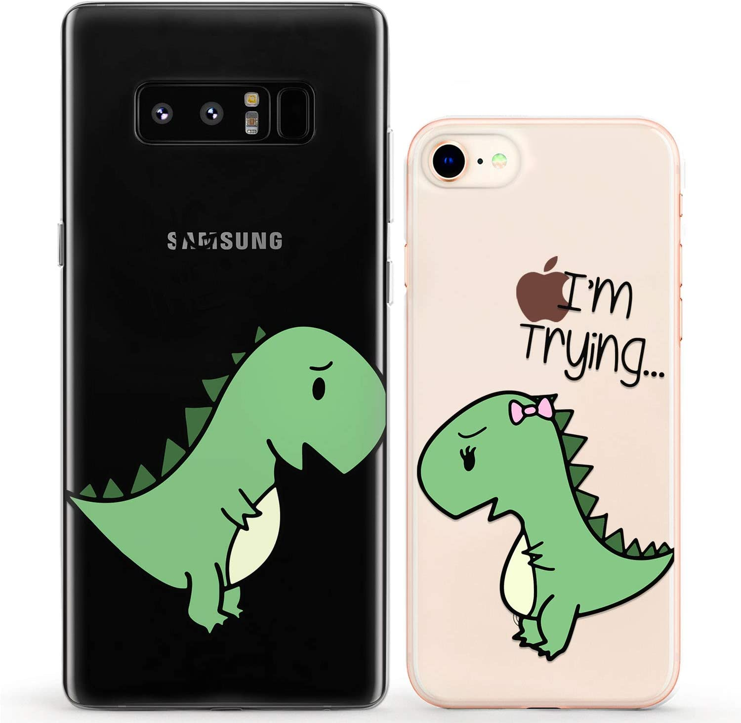 Hug Me! Dino Love! Suitable for Any Mobile Phone Three in One Data Line