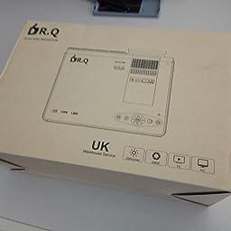 DR.Q 2400 Lux Proyector, Mini Proyector, 40000 Horas, Proyector de ...