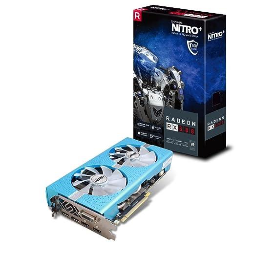 4 opinioni per Sapphire Radeon RX 580Nitro + Special Edition 8GB GDDR52x DP/2x HDMI/DVI-D