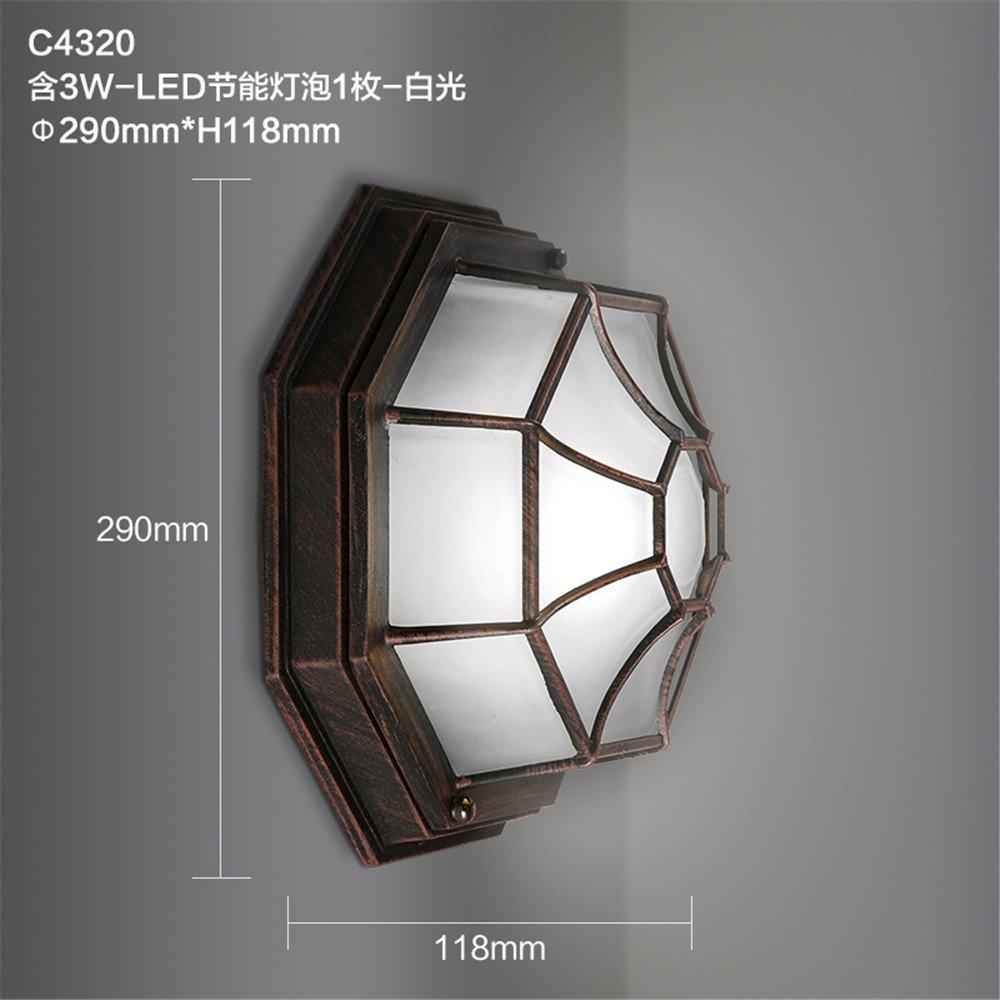 JhyQzyzqj lampada da parete Soggiorno camera da letto in stile americano parete TV Parete indoor loft luci luci da parete applique da parete