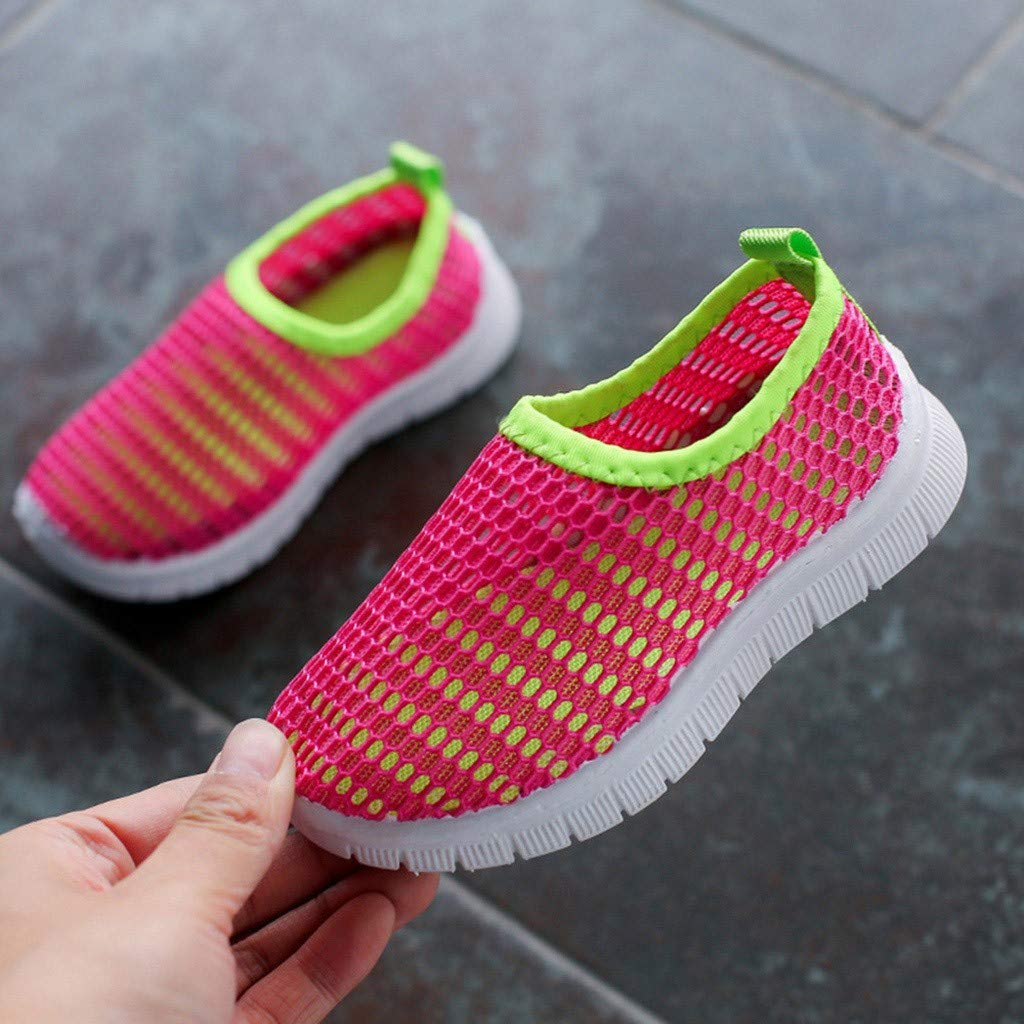 Kstare Babys Boys Girls Mesh Light Weight Sneakers Running Shoe Breathable Strap Sport Casual Shoes