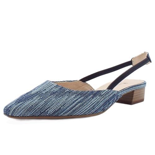 7d3c785235c7d Peter Kaiser Castra Women s Dressy Low Heel Sandals In Jeans  Amazon ...