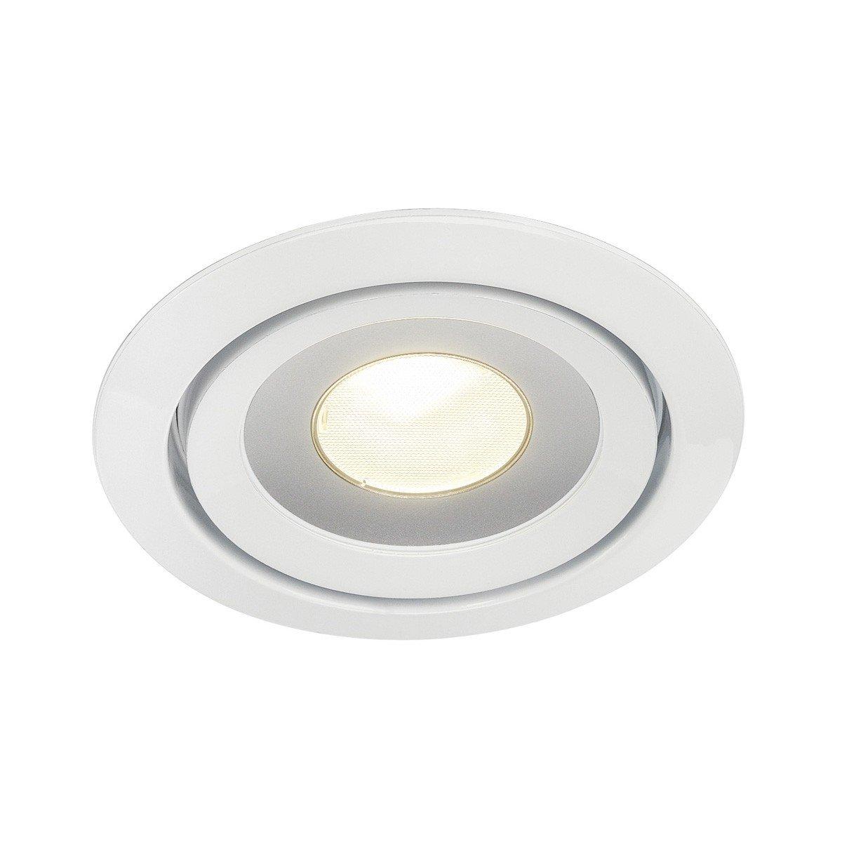 SLV LUZO Leuchte Indoor-Lampe Aluminium Weiß Lampe innen, Innen-Lampe