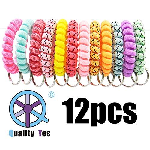 QY 12PCS New Version Bright Colorful Wave Pattern Cloth Plas