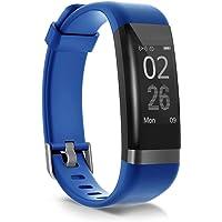 moreFit Dare Activity Tracker, attività Tracker Orologio Smart Watch Cardiofrequenzimetro Impermeabile IP67 Cardio Frequenzimetro Pedometro Fitness Tracker Bluetooth Braccialetto Wristband