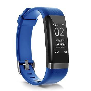 moreFit Dare Pulsera Actividad Inteligente,Pulsera Podometro,Impermeable Pulsera Actividad Hr,Dormir Reloj Podometro,Reloj Inteligente Iphone ...