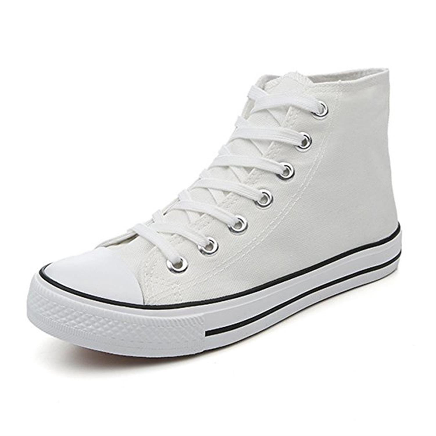 Men and Womens Canvas Sneakers Classic Casual Shoes