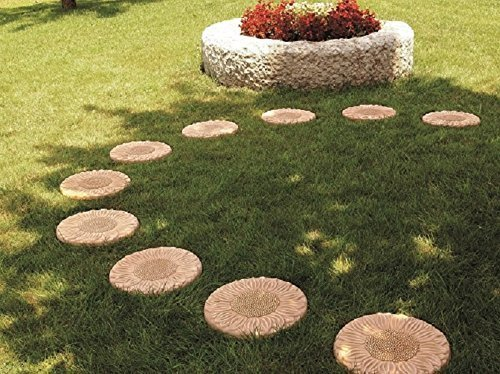 Passi in terracotta da giardino pezzi pavimentazione per