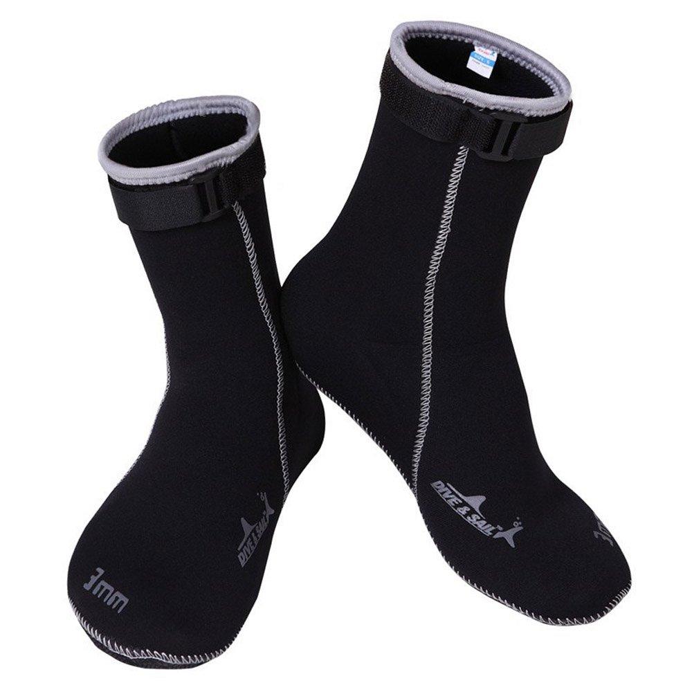 Un Punto Wetsuits Prima Neopreno 3 mm Neopreno Calcetines de Agua: Amazon.es: Zapatos y complementos