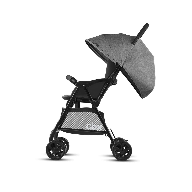 Comfy Grey CBX Yoki 518001847 Silla de Paseo Ultracompacta con Cubierta para Lluvia Gris