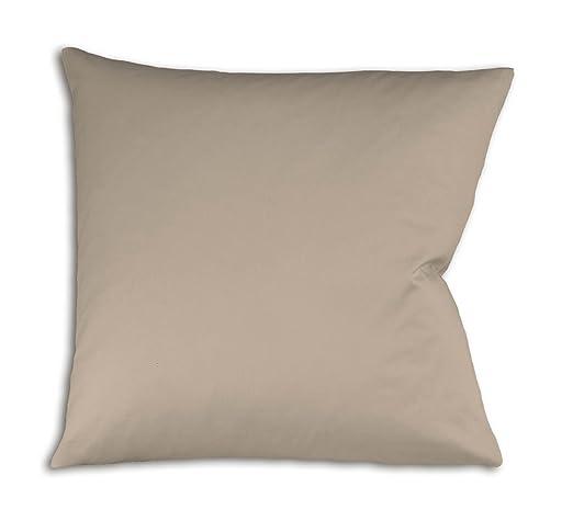 43 opinioni per Fleuresse 9100, Fodera per cuscino con cerniera, 100% raso di cotone Makò,