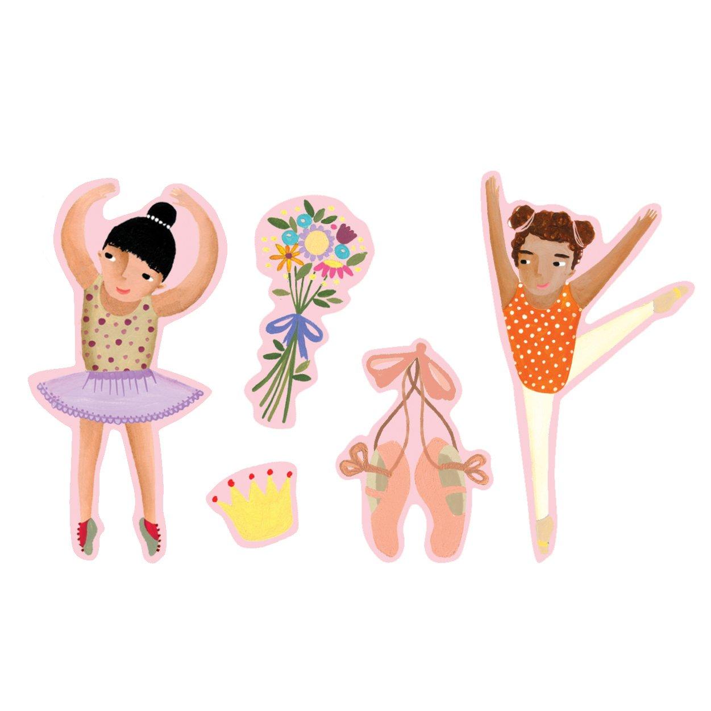 Mudpuppy Ballerinas Book of Stickers