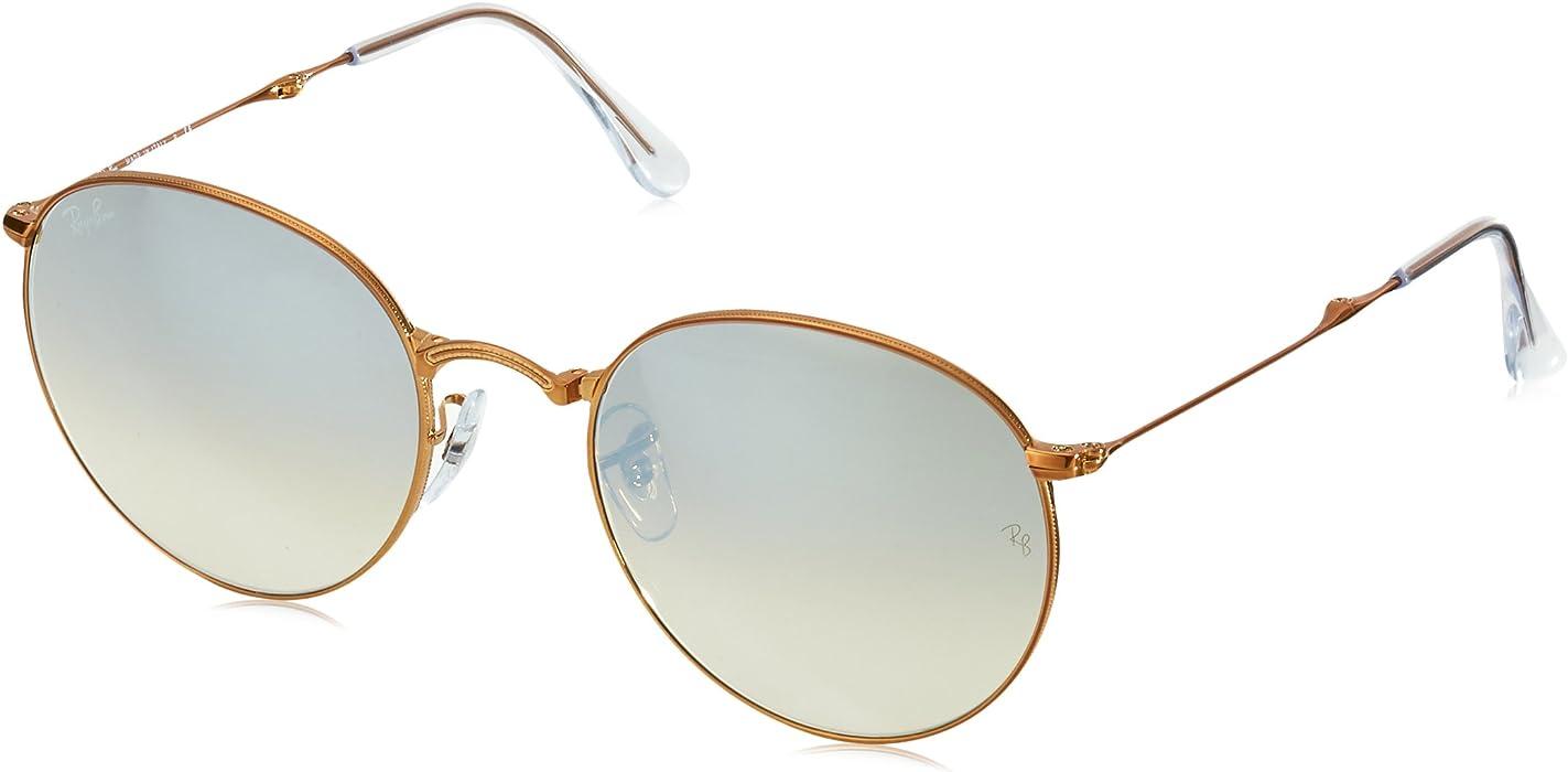 8c8c2a3600 Amazon.com  Ray-Ban Metal Man Sunglasses - Shiny Bronze Frame Copper ...