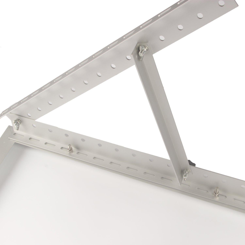 Adjustable Solar Panel Mount Mounting Rack Bracket Set Rack Folding Tilt Legs, Boat, RV, Roof Off Grid (28-inch Length) by Link Solar (Image #5)