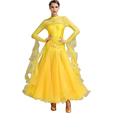 Robe Salle Bal Danse Robes De Douces Femmes Lrr Valse 4jR3AL5
