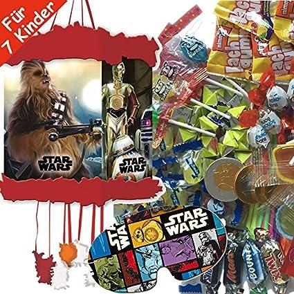 Piñata Juego: * Star Wars * con Piñata + Máscara + 100 Juego ...