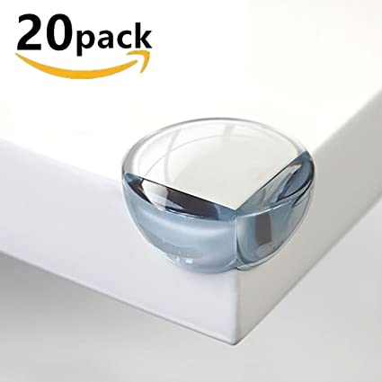 Baby Safety Corner Protectors,4 Pcs Transparent Table Corner Guards Protect Child from Injury,Desk Bed and Cupboard Furniture Edge Rubber 4pcs