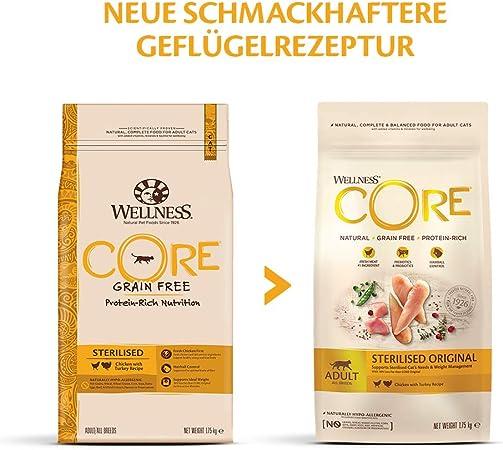 Wellness CORE - Pollo esterilizado para Gatos (1,75 kg)