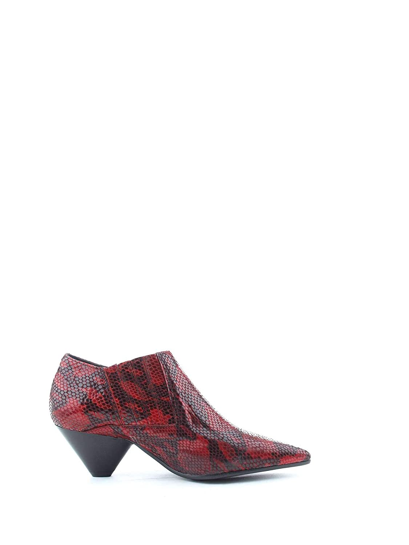 POESIE VENEZIANE Damen Damen Damen 2019rot Rot Leder Stiefeletten 1ada00