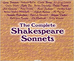 The Complete Shakespeare Sonnets (Audio CD): William Shakespeare ...