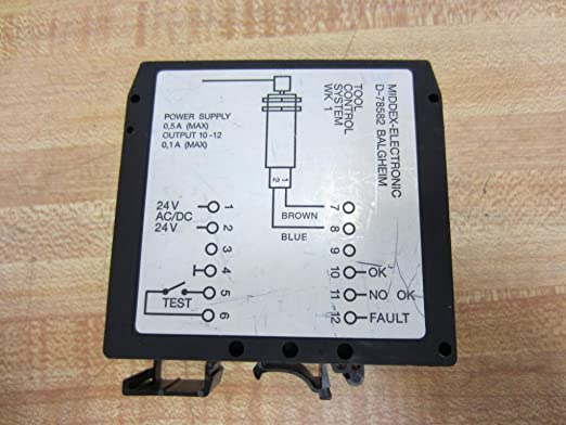 MIDDEX ELECTRONIC TOOL CONTROL SYSTEM MODULE WK1A *PZF*