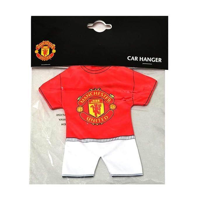 premium selection 77f35 a4be0 Amazon.com: Manchester United FC Mini Kit Car Hanger (One ...