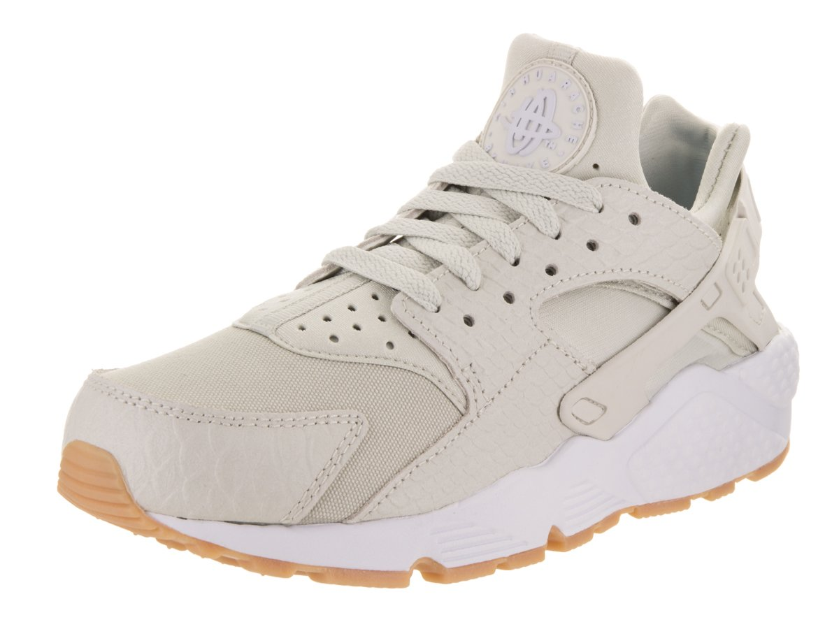 NIKE Women's Huarache Run SE Running Shoe B071H94L8C 6 B(M) US|Light Bone/Light Bone