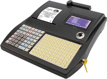 Olympia CM 980 SF - Caja registradora para negocio, color negro ...