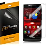 [6-Pack] Supershieldz- High Definition Clear Screen Protector For Motorola Droid Razr M XT907 (Verizon) + Lifetime Replacements Warranty [6 Pack] - Retail Packaging