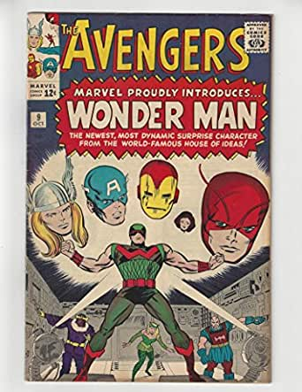 The Avengers #9/Silver Age Comic Book/1st Wonder Man/VF