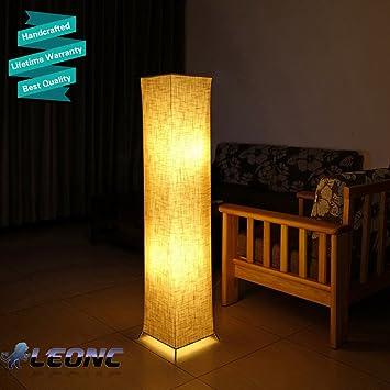 Creativa lámpara de pie LOUNGE Diseño - Lámpara de pie salón ...