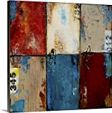 greatBIGcanvas Gallery-Wrapped Canvas entitled Station Square by Erin Ashley 30''x30''