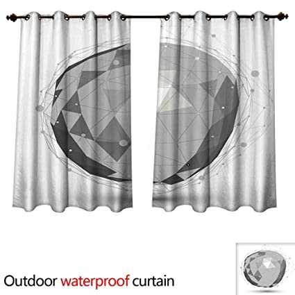 Amazon Com Outdoor Curtains For Patio Sheer D Mesh Modern Stylish