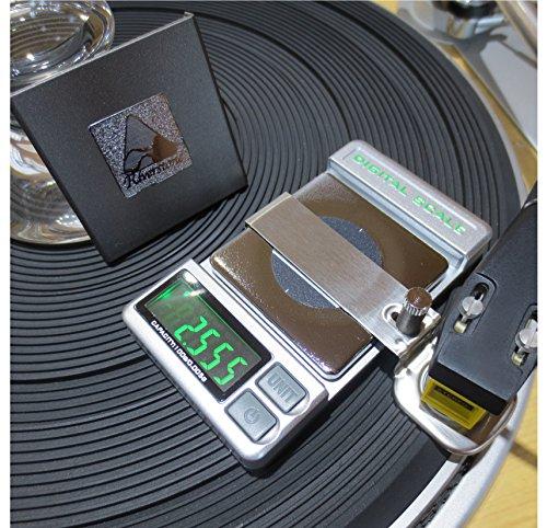Record-Level Stylus VTF Tracking Force Pressure Gauge-Graphite Riverstone Audio