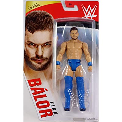 WWE Top Picks 6-inch Action Figures with Articulation & Life-Like Detail, Finn Balor: Toys & Games